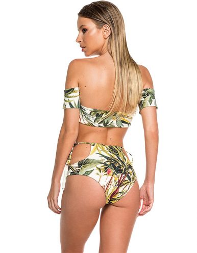 Bikini Palabra de Honor con Flecos | Conjunto Namibia 1-2