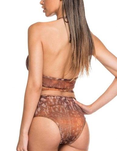 Body Bañador Estampado Camel Edición Limitada | Body Tule Sahara B