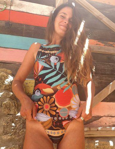 Body Bañador estampa noche tropical y espalda al aire Lua Morena-33644012BODYBAÑADOR-A