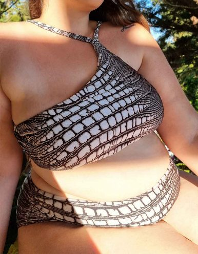 Braguita Bikini Talla Grande animal print Classic-A