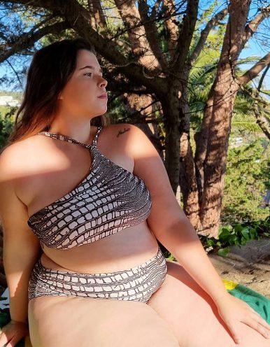 Braguita Bikini Talla Grande animal print Classic-B