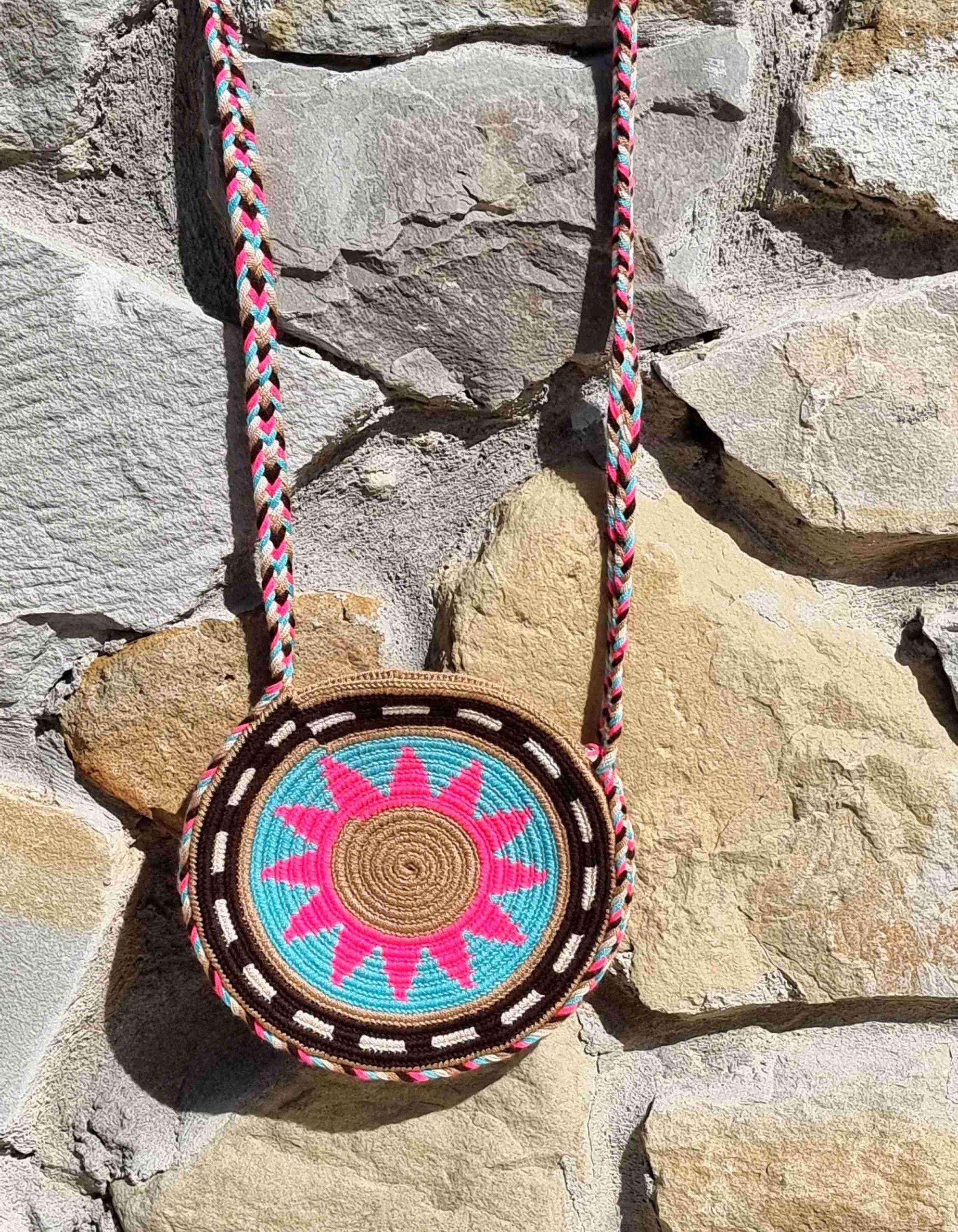 Bolso Pequeño Wayuu Original Auténtico sólo 1 igual A