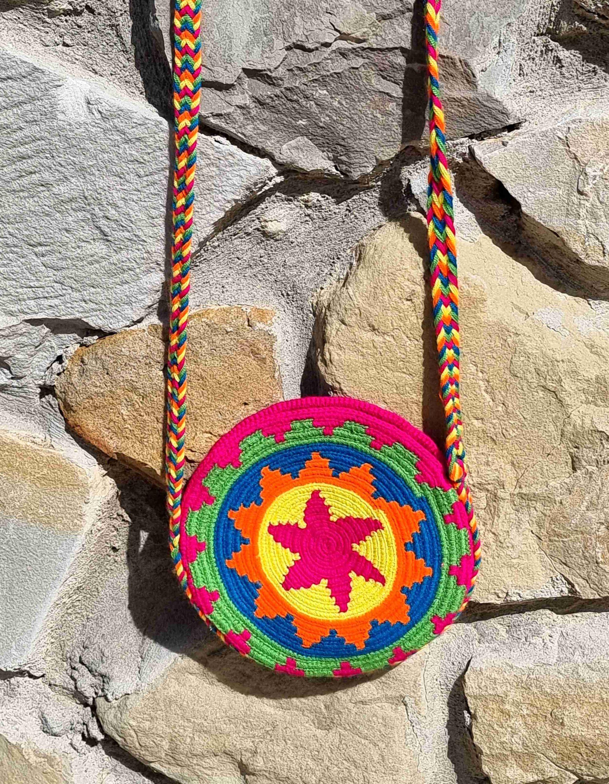 Bolso Pequeño Wayuu Original Auténtico sólo 1 igual B