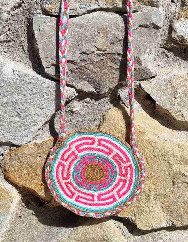 Bolso Pequeño Wayuu Original Auténtico sólo 1 igual D