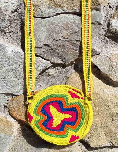 Bolso Pequeño Wayuu Original Auténtico sólo 1 igual E