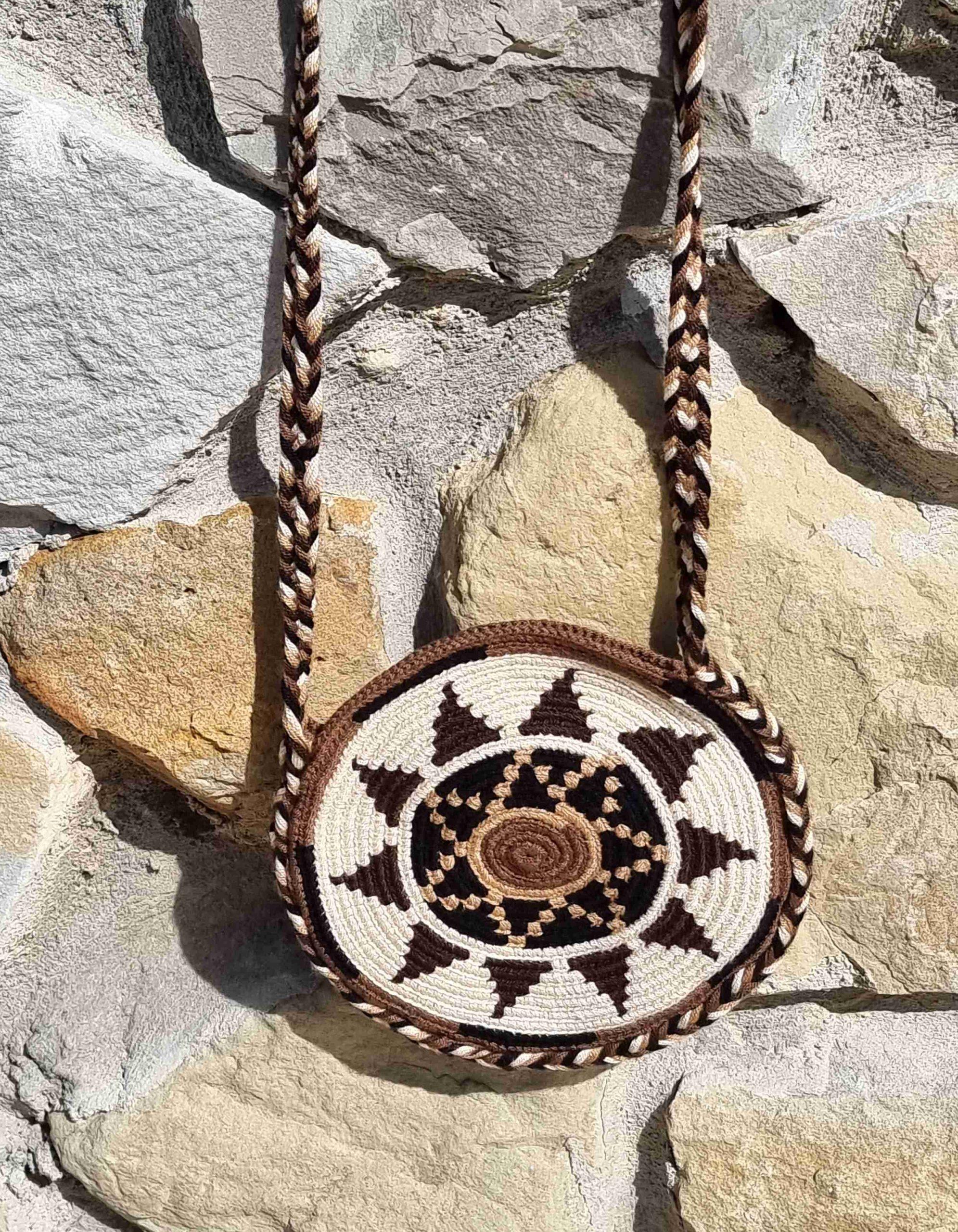 Bolso Pequeño Wayuu Original Auténtico sólo 1 igual F
