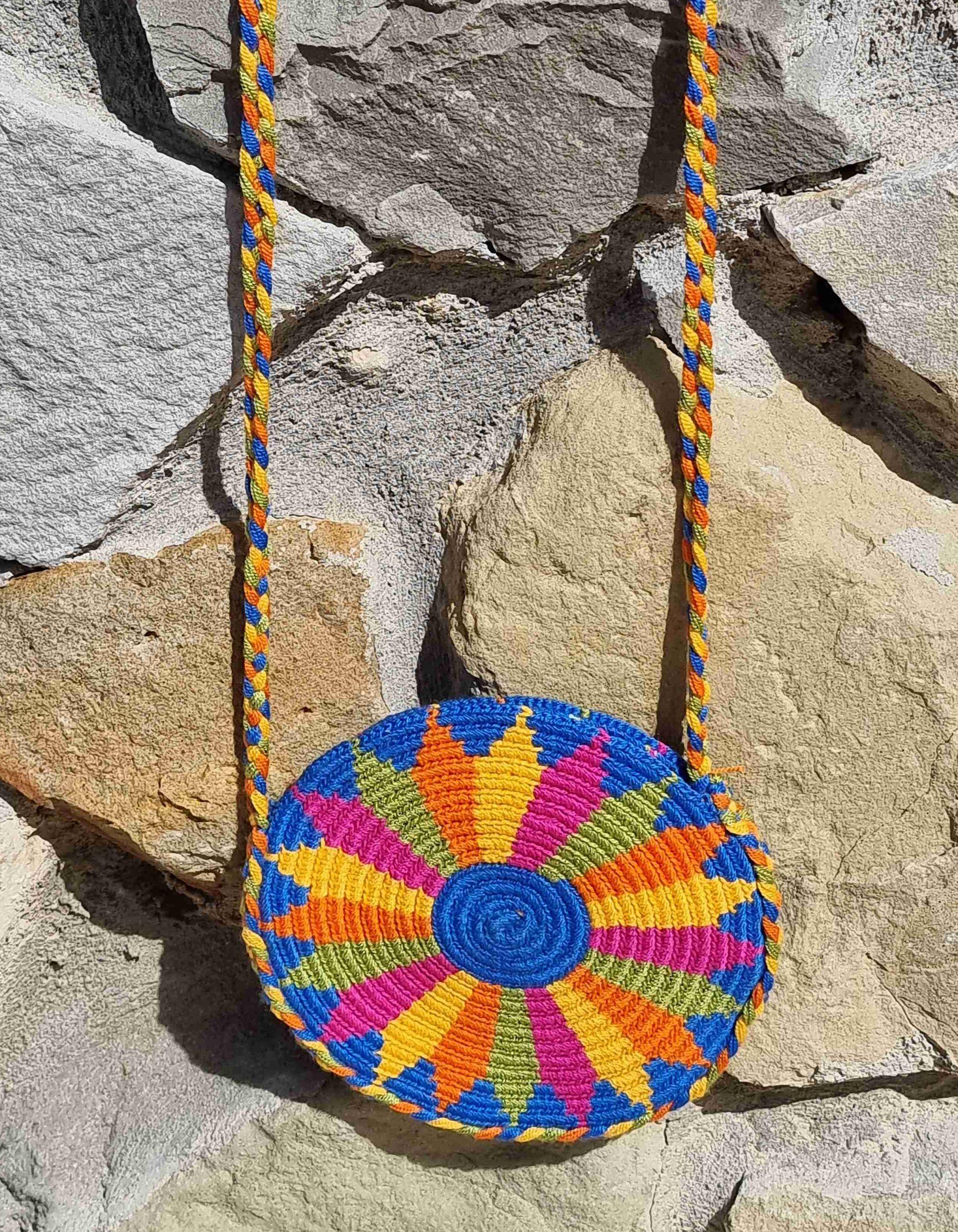 Bolso Pequeño Wayuu Original Auténtico sólo 1 igual G