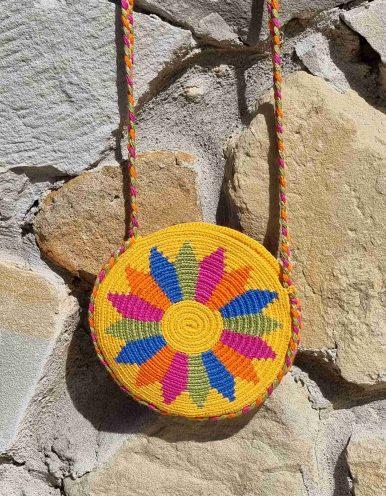 Bolso Pequeño Wayuu Original Auténtico sólo 1 igual H