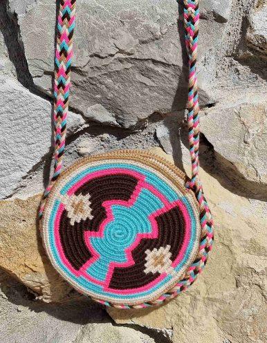 Bolso Pequeño Wayuu Original Auténtico sólo 1 igual I