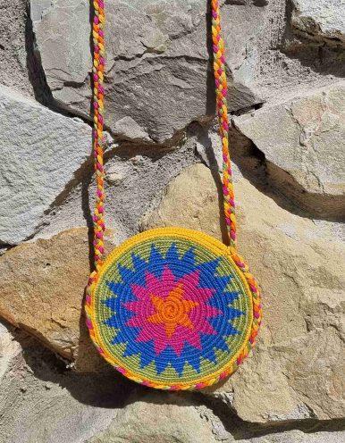 Bolso Pequeño Wayuu Original Auténtico sólo 1 igual O