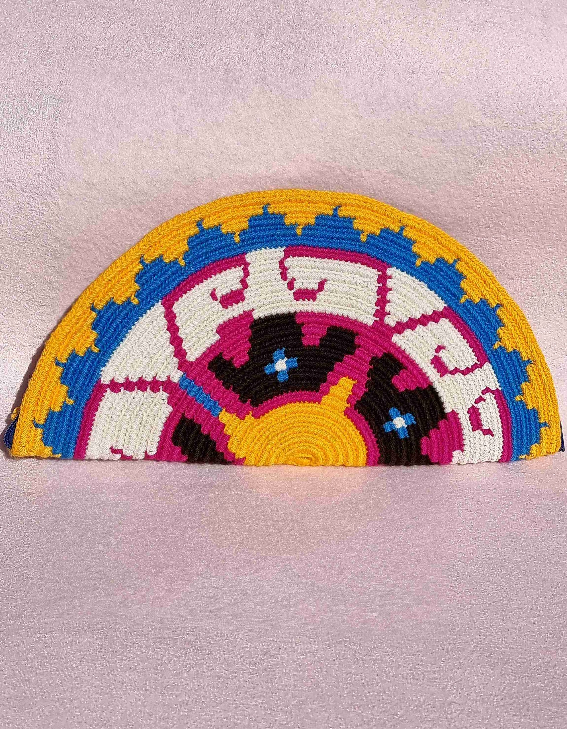 Cartera Wayuu Original Auténtica sólo 1 igual-C